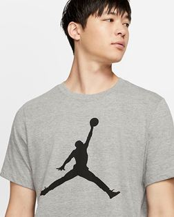 Immagine di JORDAN TEE Jumpman Logo CJ0921-091 grigio